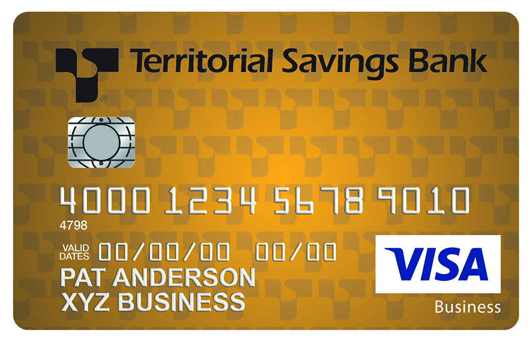 Business Credit Cards Territorial Savings Bank